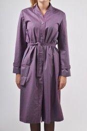Prachtig paarse NINO 70s vintage jas 3 purple original vintage 70s trench coat