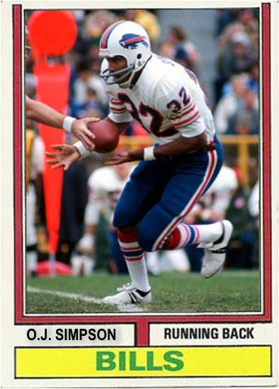 OJ Simpson Buffalo Bills