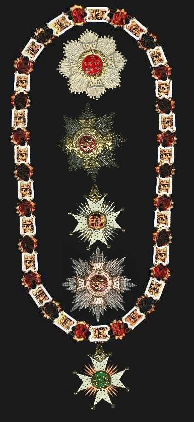 Collar of the Grand Master, plus exemplars of the Knights Cross, Order of Saint Hubert The Bavarian Order of Saint Hubert. Founded in 1444 or 1445 by Gerhard V, Duke of Jülich and Count of Ravensberg. He sought to commemorate his victory over the House of Egmond at the Battle of Linnich on 3 November, which is Saint Hubert's day. It also commemorated the conversion of Saint Hubert and his standing as the patron saint of hunters and knights.