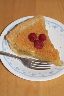 Savory Moments: Old fashioned vinegar pie