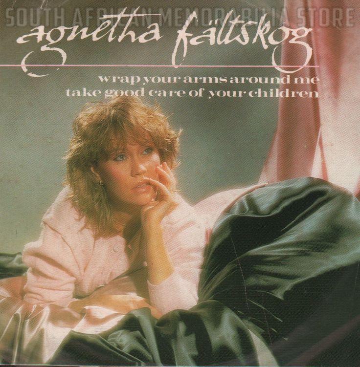 "AGNETHA FALTSKOG ABBA - Wrap Your Arms Around Me - South African Vinyl 7"" Single"