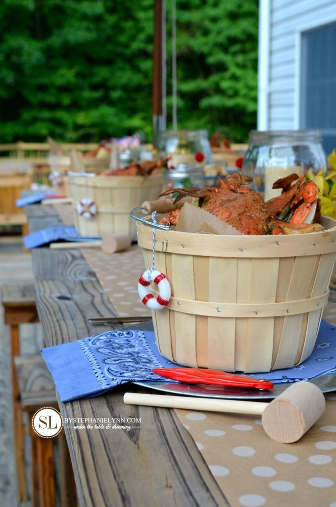 Crab Feast Party | Crab And Shrimp Boil Summer Entertaining