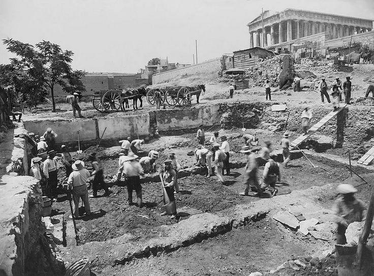 Αθήνα, ΑΝΑΣΚΑΦΕΣ ΣΤΗΝ ΑΡΧΑΙΑ ΑΓΟΡΑ, ΙΟΥΝΙΟΣ 1931