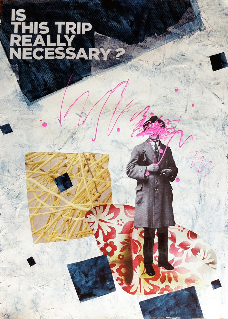 Is this trip really necessary? Artista: Alberto Labad