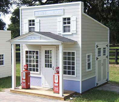 17 best images about wacky playhouse on pinterest for Playhouse with garage plans