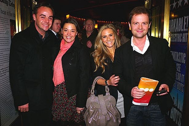 ant and dec | Ant and Dec go out on Valentines double date while Perry Fenwick and ...