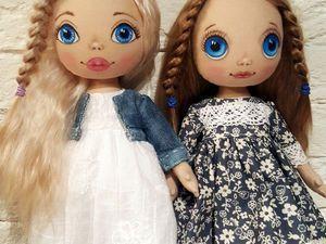 Мастер-класс: создаем трессы для куклы из шкурки козочки | Ярмарка Мастеров - ручная работа, handmade