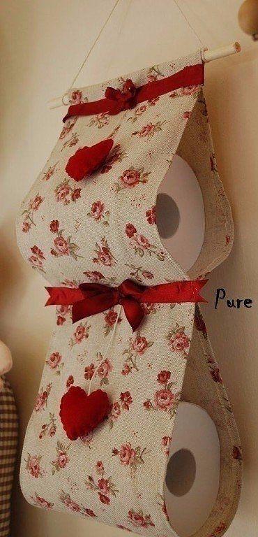 Mantenga el papel higiénico bellamente