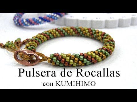 Material que utilizo: Rocallas Matubo 8/0: http://goo.gl/VxOcRV Rocallas Miyuki 8/0: http://goo.gl/UUCUvN Cierre Magnetico 8mm diametro: http://goo.gl/wzDoYa...