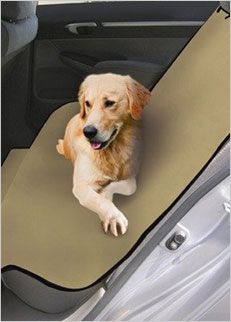Keep those car seats clean with Pet Zoom Loungee