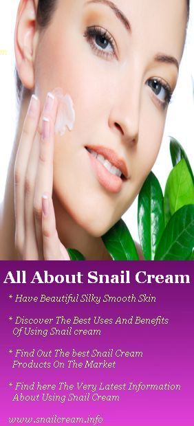 Who would have thought that you can get rid of acne, blemishes, stretch mark, and wrinkles with Snail Cream! I've used snail cream (called Elicina). I would recommend it.