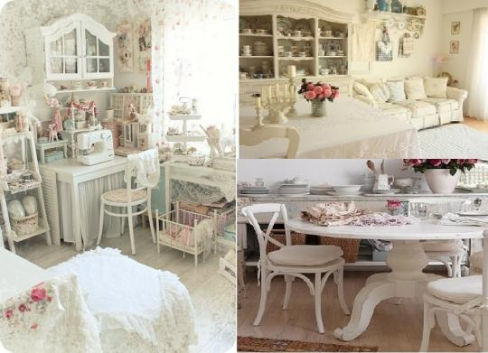 Shebby chic shabby chic pinterest shabby chic interiors shabby and shabby chic - Decoratie de charme chic ...