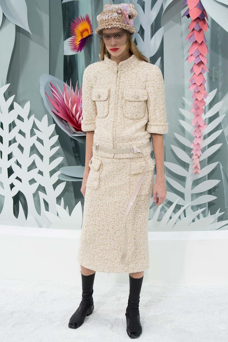 Chanel Spring 2015 Couture Fashion Show - Lexi Boling