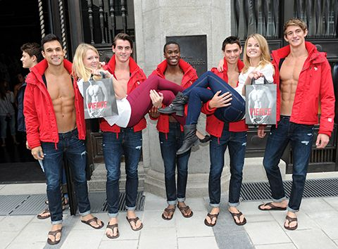 Abercrombie and fitch don't want fat people wearing clothes - Fashion Trends - Yahoo!7 Lifestyle---Wow, insulting American consumers bud...Those fat and ugly people have FAR more spending POWER, than your arrogant asses of pretty people you cater to... OMG!! You are paying the price for YOUR stupid remark...You know what? And your business profits declining, while trying to put the blame on your suppliers!! You drank too much of that Michelle Obama Kool-Aid kid!