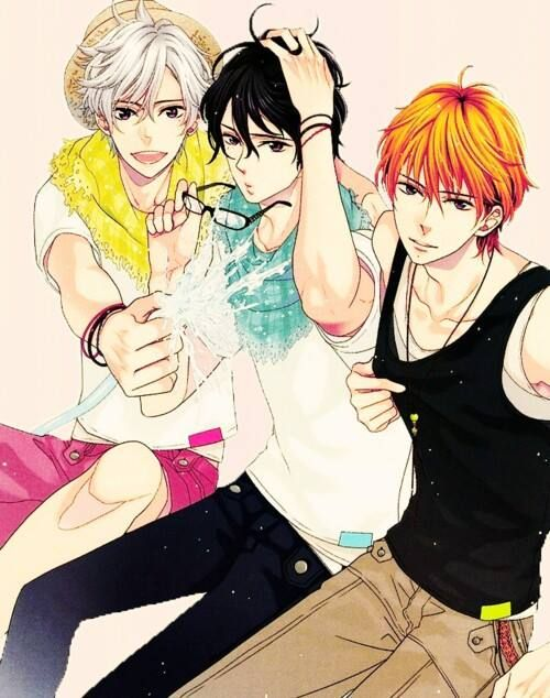 Brothers Conflict - Asahina Triplets