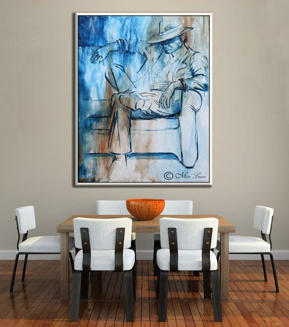 An Impressive Large Wall Art By Miri Lavee Manly Wall Decor Masculine Wall Art For Home Decor Office Decor Large Canvas Art Modern Canvas Art Wall Canvas
