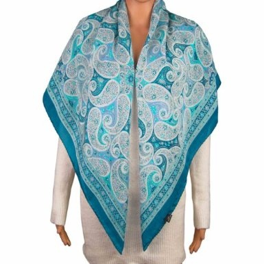 Scarves And Wraps Silk 100 Percent Crepe Square Spring Summer Dress Accessory: Amazon.co.uk: Clothing