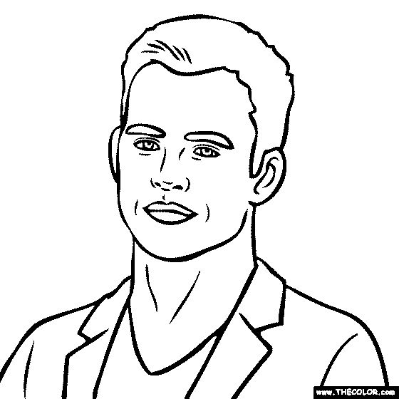 christopher frozen coloring pages - photo#30