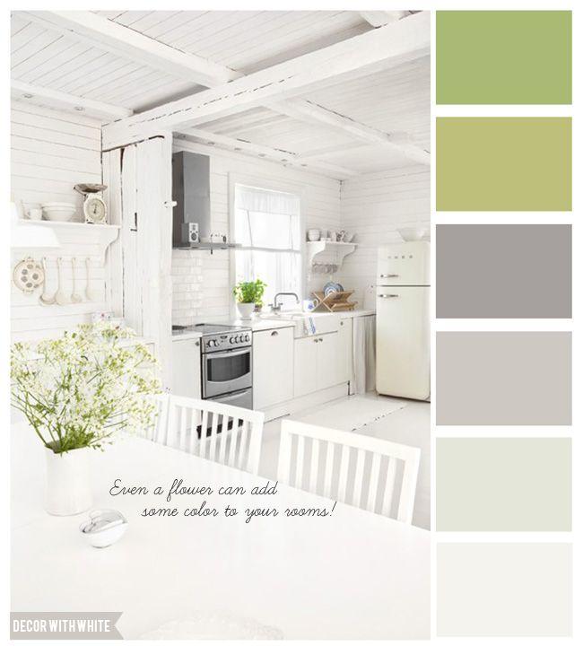 House Kitchen Paint Colors: Beach House Kitchen Colors. Fresh! #paintcolors