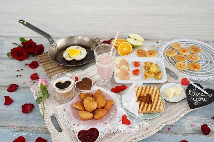 Valentine Breakfast / Brunch Ideen