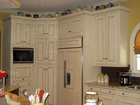 77 best new kitchen images on pinterest new kitchen for Antique painting kitchen cabinets