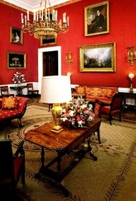 Red Room @ The White House