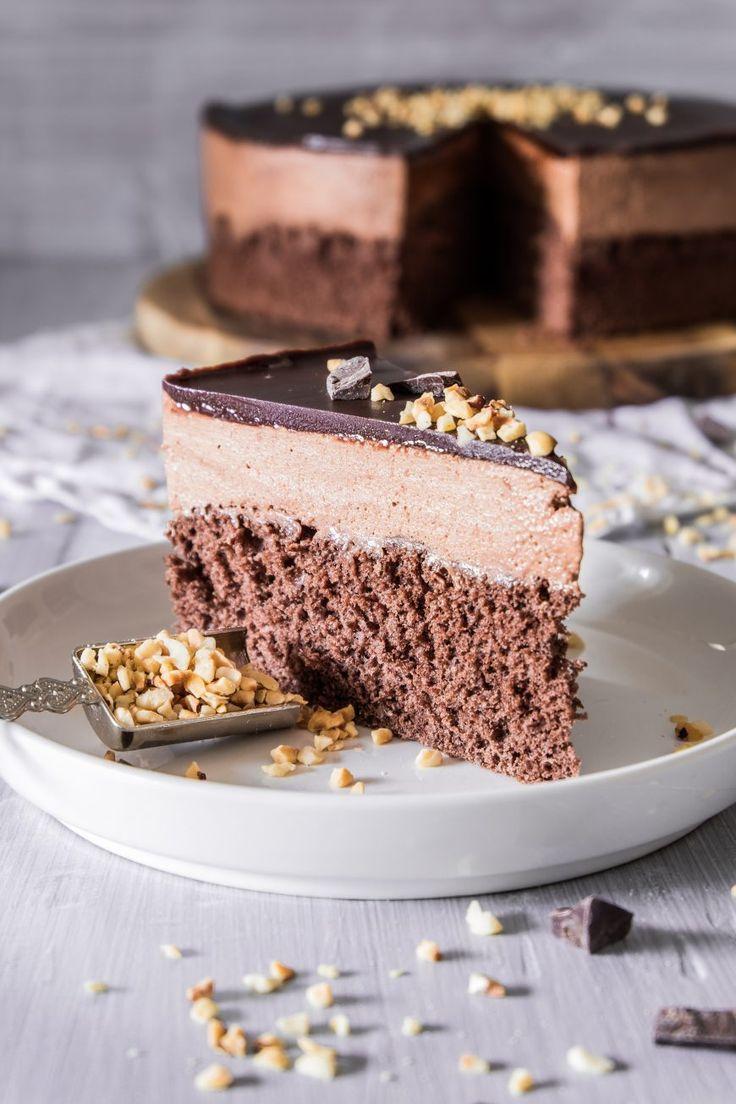 Schokoladen Mousse Kuchen Torte Mousse Kuchen Kuchen