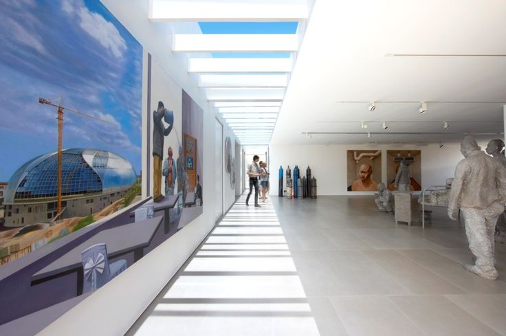 'White Rabbit Gallery' , Masterful and Serene in its Splendour as it Highlights its Display of Contemporary Chinese Art by Smart Design Studio. The Art Gallery design is a excellent model of minimalist design and Modern contemporary ideas put to use in an adaptive reuse project transforming an old warehouse into a radical temple of contemporary Chinese art. The gallery flaunts various modern spaces with different functions like audio visual rooms.