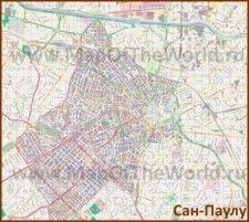 Карты Сан-Паулу