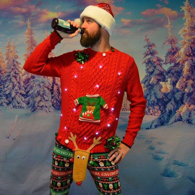 Herren Pullover Weihnachten