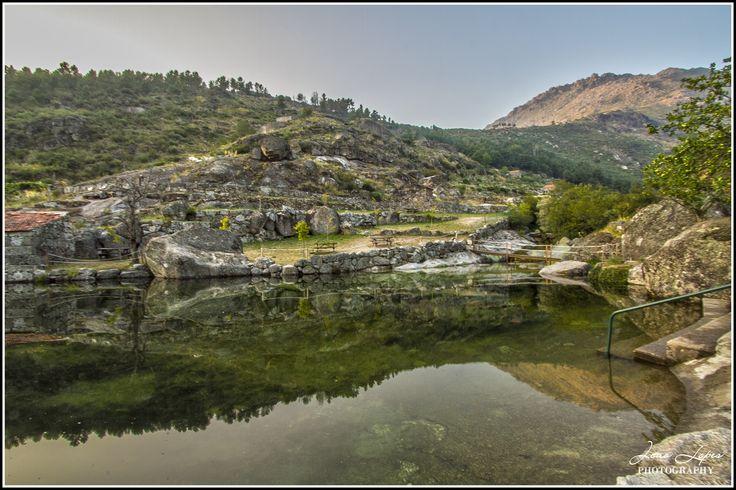 Praia Fluvial de Loriga   Serra da estrela   Portugal