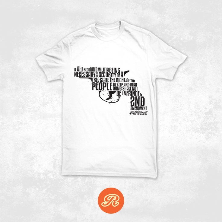 Right To Bear Arms Company - The Right To Bear Arms Original, $19.99 (http://www.rtba.co/the-right-to-bear-arms-original/)