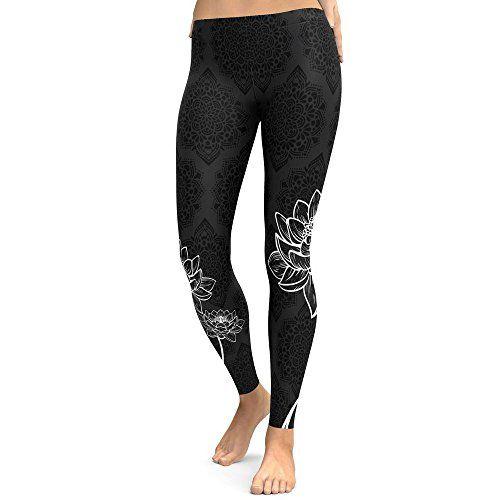 UFACE Taille Strumpfhosen Sporthosen LeeMon Women …
