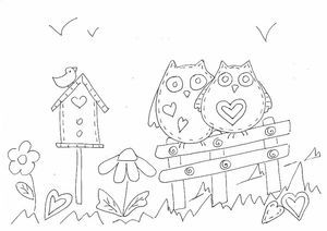 69 best animal coloring pages for applique images on