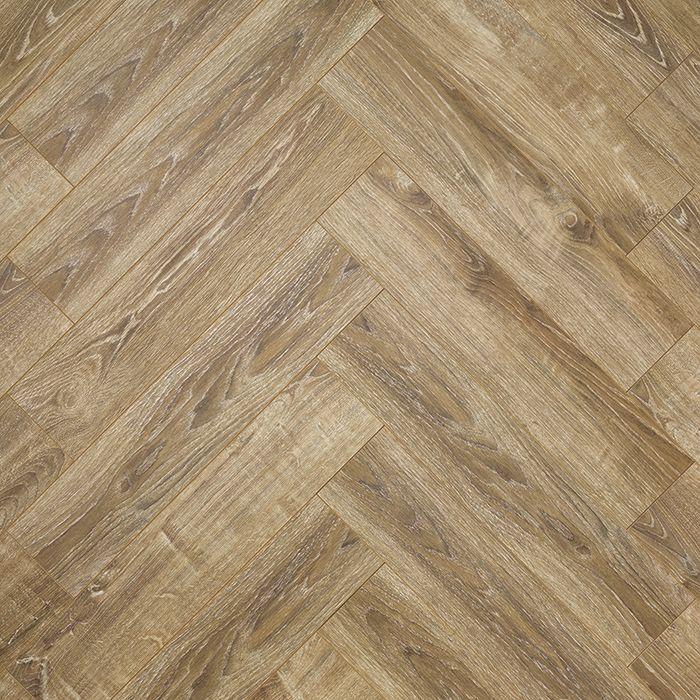 Alsafloor Creative. Balearic Oak. Herringbone laminate