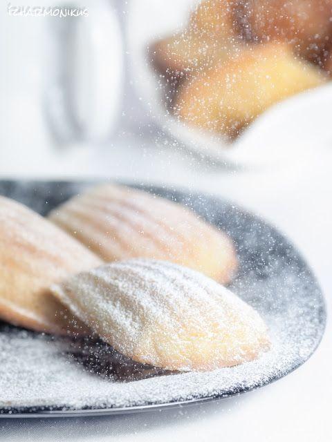 Citromos és pisztáciás madeleine