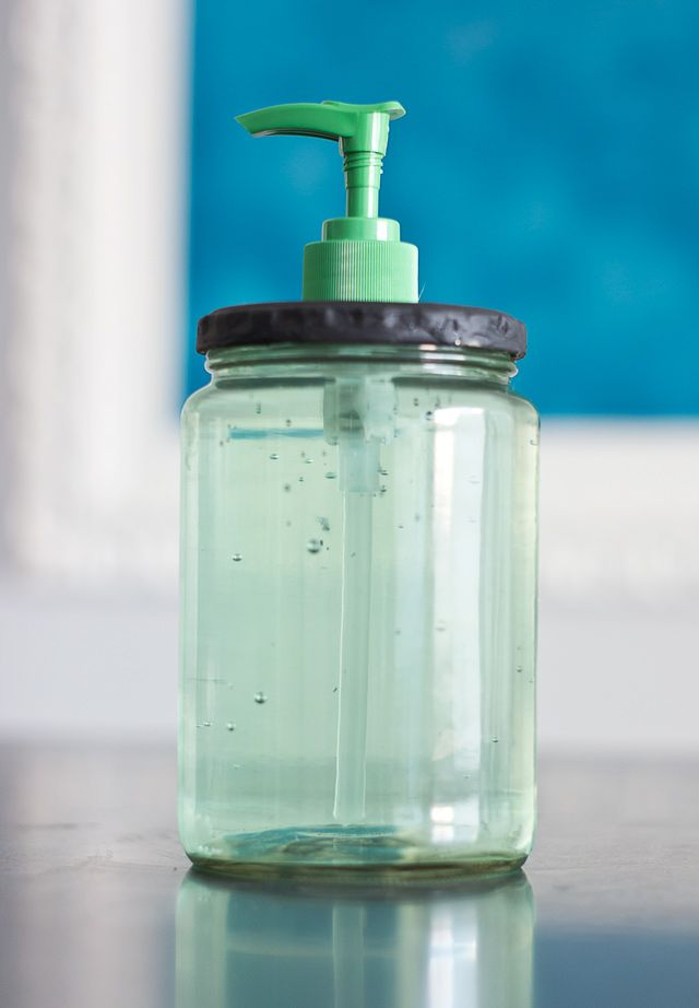 Pickle Jar Soap Dispenser