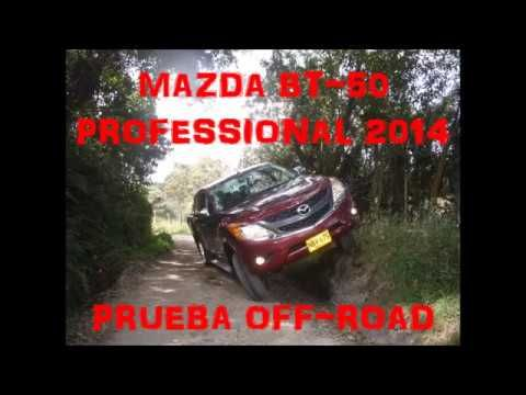 Mazda BT-50 Professional en prueba off-road