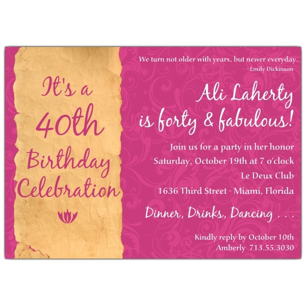 17 best invitations images on pinterest surprise birthday birthday invitation sayings filmwisefo Image collections