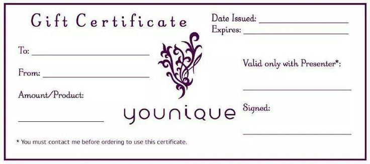 Ask me about Gift certificate purchase! | younique best ...