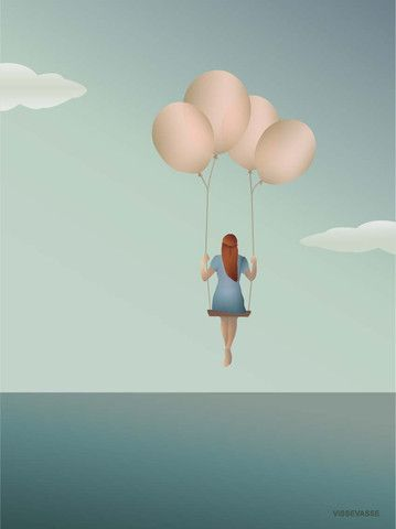 BALLOON DREAM - plakat 15x21 cm