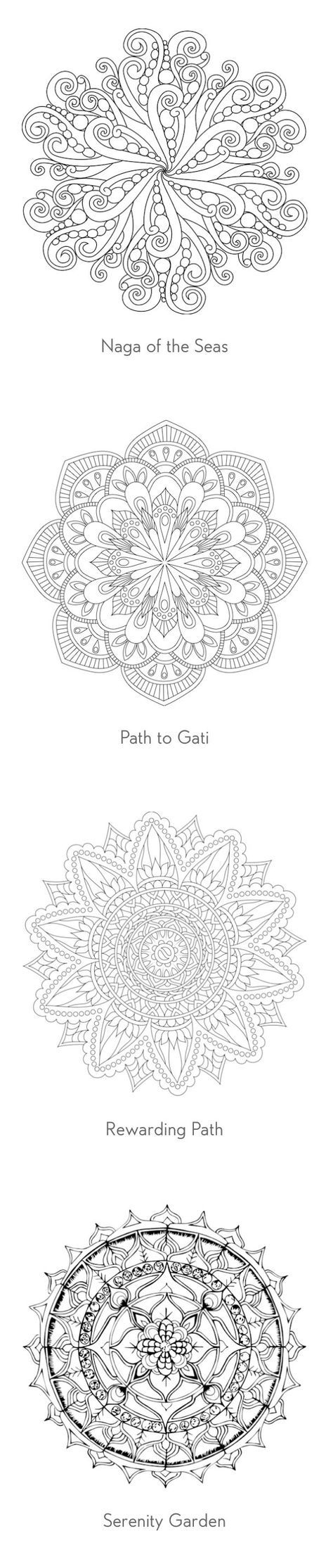 26 best mandala coloring pages images on pinterest coloring books adult coloring pages and - Mandala adulte ...