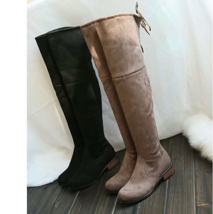 ReShop Store now has Thigh High Over t... - #buy #sexy here http://www.reshopstore.com/products/thigh-high-over-the-knee-boots-flat-bottom-round-toe?utm_campaign=social_autopilot&utm_source=pin&utm_medium=pin