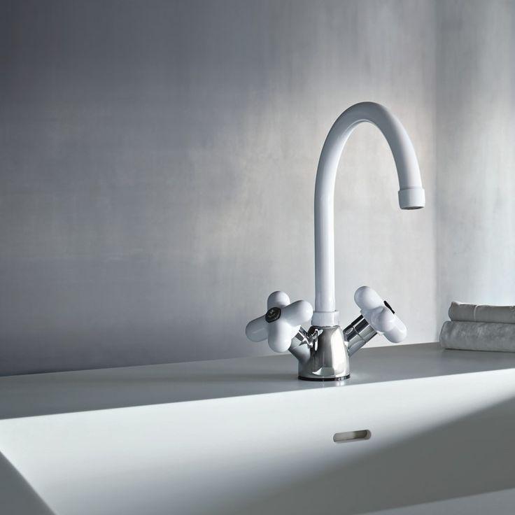 Fantini Zweigriffmischer für Küche I Balocchi | 0550 | Design: Mercatali & Pedrizzetti