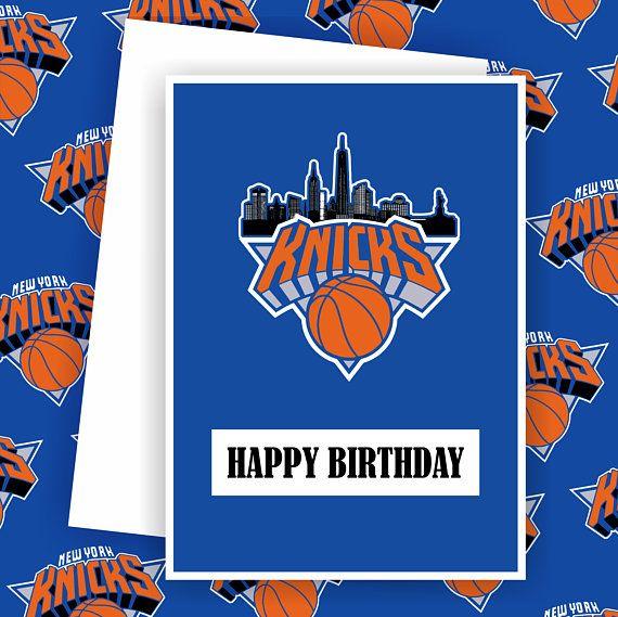 Knicks New York Knicks Fan Basketball Team Card Basketball Greeting Card Love And Basketball New York Knicks Unique Cards