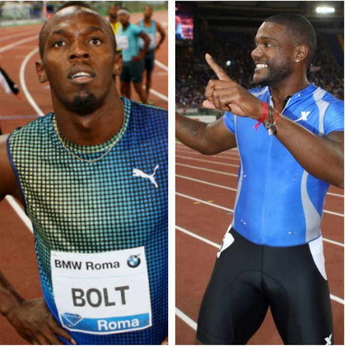 USA Sprinter Justin Gatlin Beats Usain Bolt in Italy! [VIDEO] josalynmonet.com