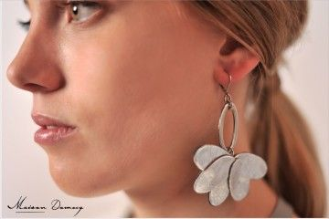 #jewelry #fashion BOUCLES D'OREILLES RAICES
