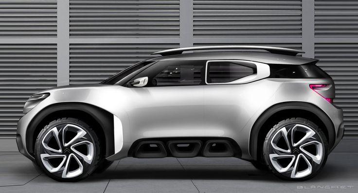 2015 | Citroen Aircross Concept | Design Development | Design by Grégory Blanchet | Source