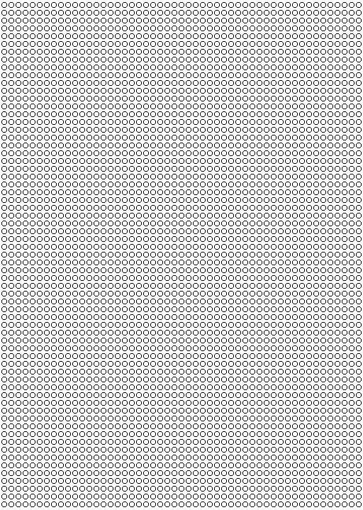 grille vierge tissage perles