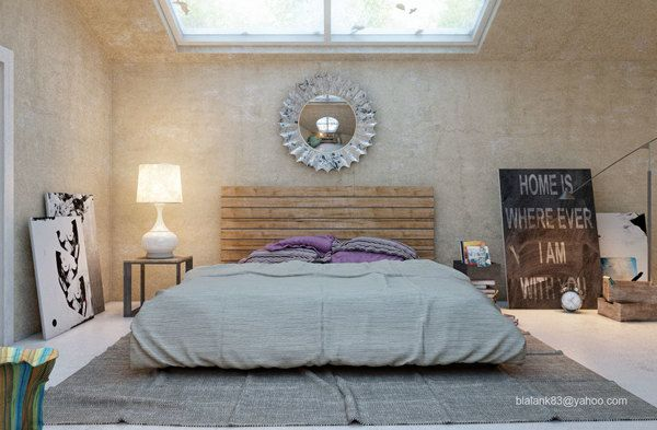 another bedroom by Adi R Indra G, via Behance
